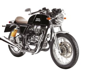 Royal Enfield Continental GT in black colour