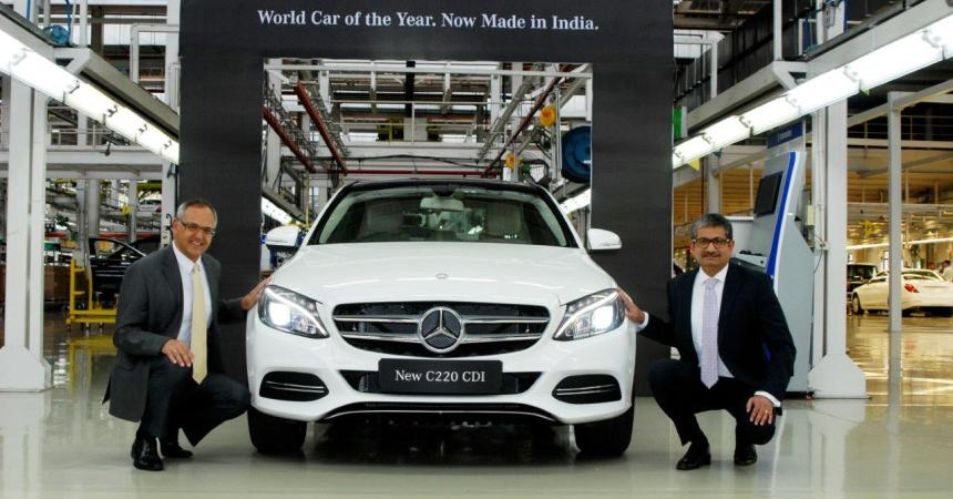 Locally assembled C220 CDI