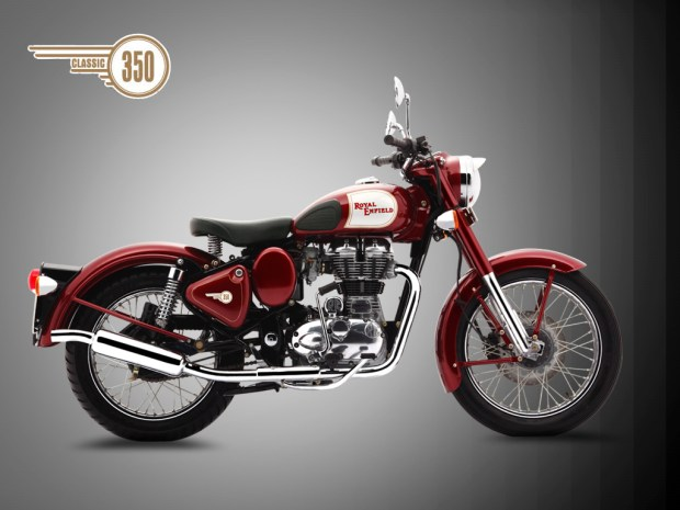 Royal Enfield Classic 350 Side profile