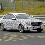 2016 Mercedes E-Class spied on the Nürburgring