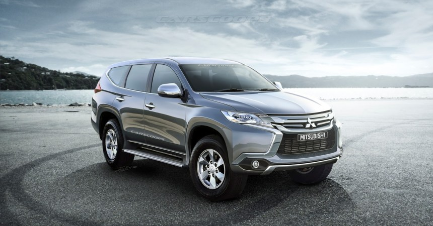 All New 2016 Mitsubishi Pajero Rendered