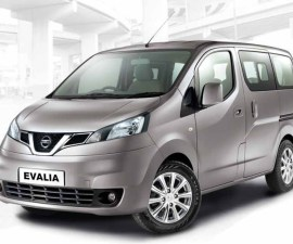 Nissan Evalia Gave A Minor Facelift In 2014