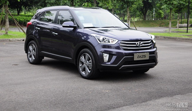 Hyundai iX25 Full Profile