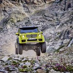 Mercedes-Benz G500 4×4 squares up for production