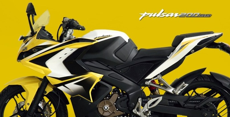 Bajaj Pulsar 200 SS side profile