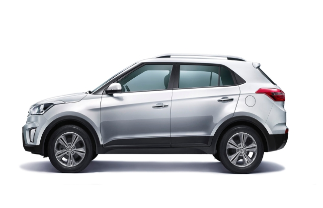 Hyundai Creta Side Profile