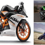Yamaha YZF-R3 vs Ninja 300 vs KTM RC390 Head to Head Comparison