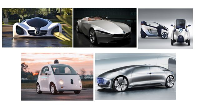 Futuristic Cars and Technology