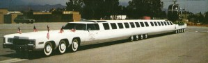 100 feet long Limo