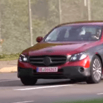 Spotted: 2016 Mercedes E-Class Sedan