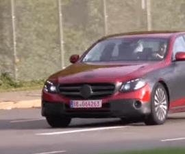 2016 Mercedes E-Class Screengrab