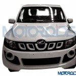Mahindra Genio snapped before launch