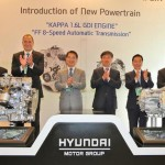Hyundai shows a hybrid engine and an 8-speed transmission
