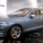 2017 Volvo S90 revealed in stolen scale model again!!