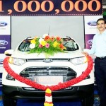 Ford India's Chennai Plant Produces 1 Millionth Vehicle