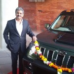 Anand Mahindra now owns a fully customized TUV300