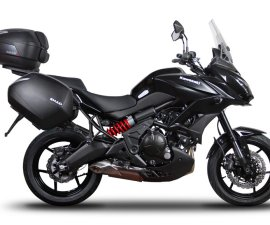 2016 Kawasaki Versys 650 ABS India with touring boxes