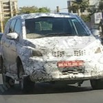 2016 Tata Hexa spied in production avatar!