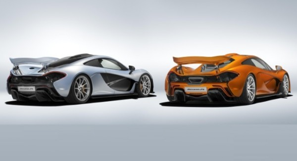 First and Last McLaren P1 Rear