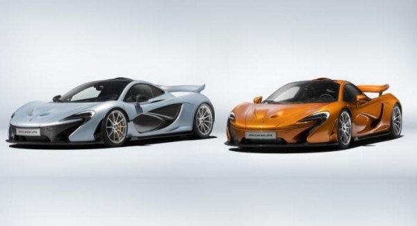 First and Last McLaren P1 Front Three Quarters