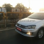 2016 Volkswagen Vento snapped undisguised