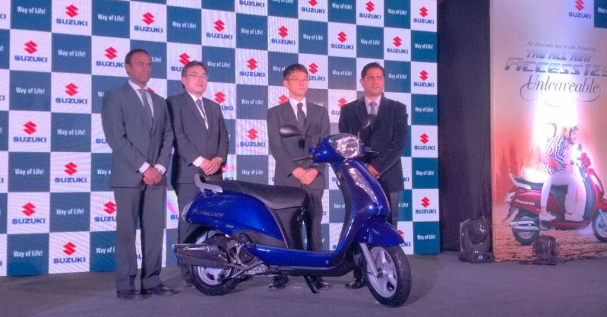 2016 Suzuki Access launched in India