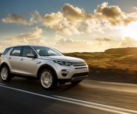 2016 Land Rover Discovery Sport in motion
