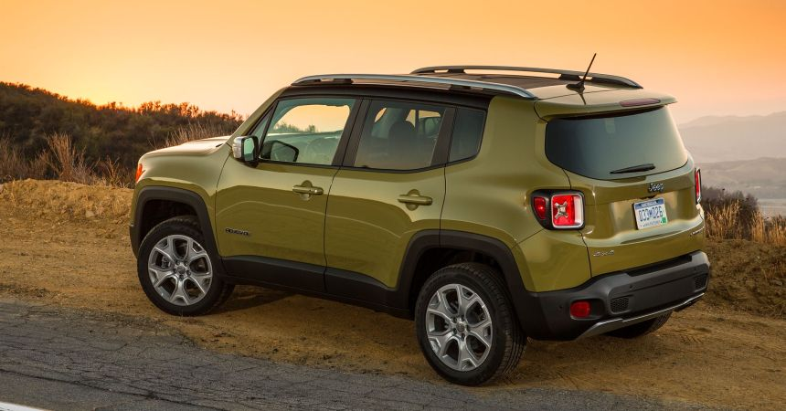 2016 Jeep Renegade for India
