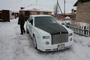 E Class to Rolls Royce front