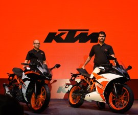 KTM RC200 and RC390 India launch