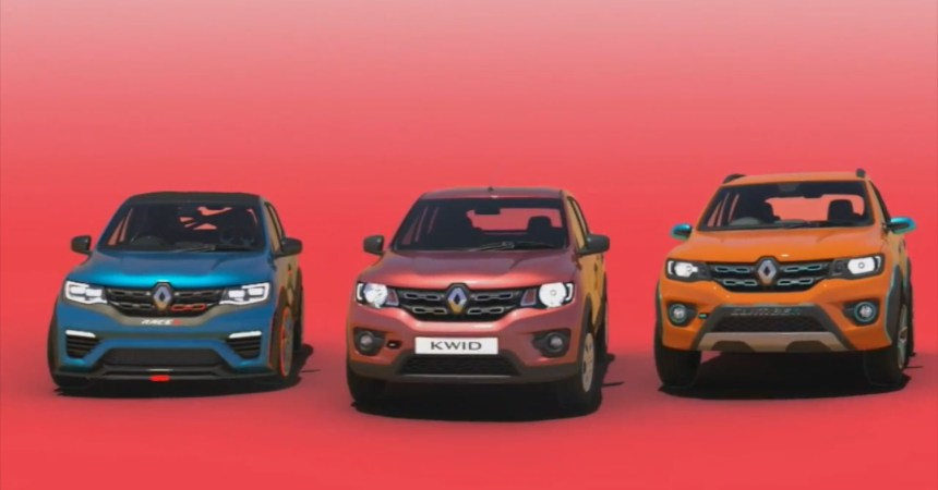 2017 Renault Kwid Climber front