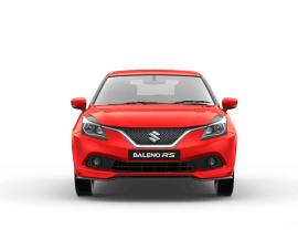 Baleno RS Front three quarters