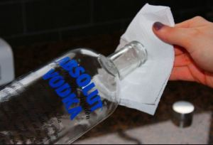 Vodka for Car Cleaning