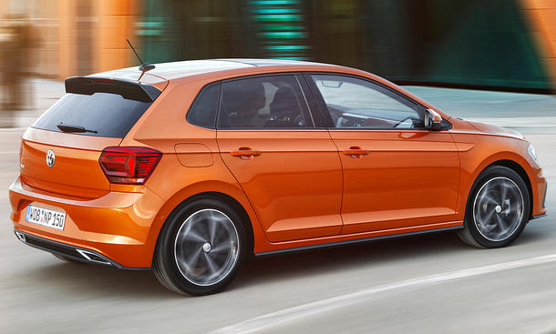 All New Volkswagen Polo Rear