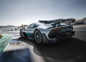 2019 Mercedes AMG Project One rear