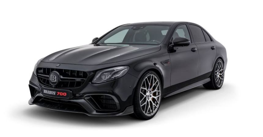 Brabus E63 700 front three quarters