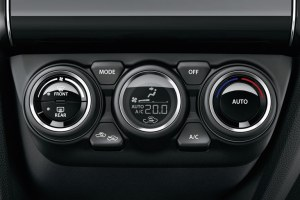 New Suzuki Swift Climate control