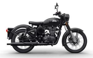 Royal Enfield 500 Stealth Black