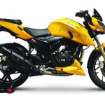 TVS Apache RTR200 with dual channel ABS launched in India
