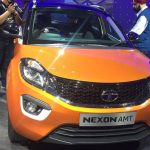 Tata Nexon AMT compact SUV revealed; Launching soon in India
