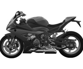 2019 BMW S1000RR side view