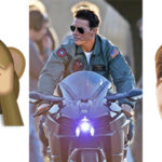 Hollywood Actor Tom Cruise Rides Kawasaki Ninja H2 Without Helmet on Top Gun 2 Movie Set
