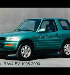 toyota rav 4 electric car 2011 and 1996 green rav4  [ 1280 x 1024 Pixel ]
