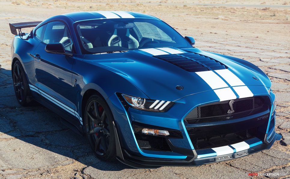 All New Mustang Shelby Gt500 Becomes The Most Powerful