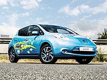 В Nissan создали прототип LEAF с удвоенной емкостью батареи - Nissan