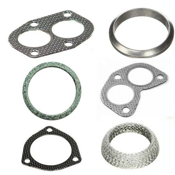 Exhaust Manifold Pipes Boxes Flange Gaskets