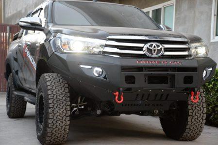 Toyota Hilux Hamer 4x4 Bull Bar Hilux Hamer 4x4 Bumper