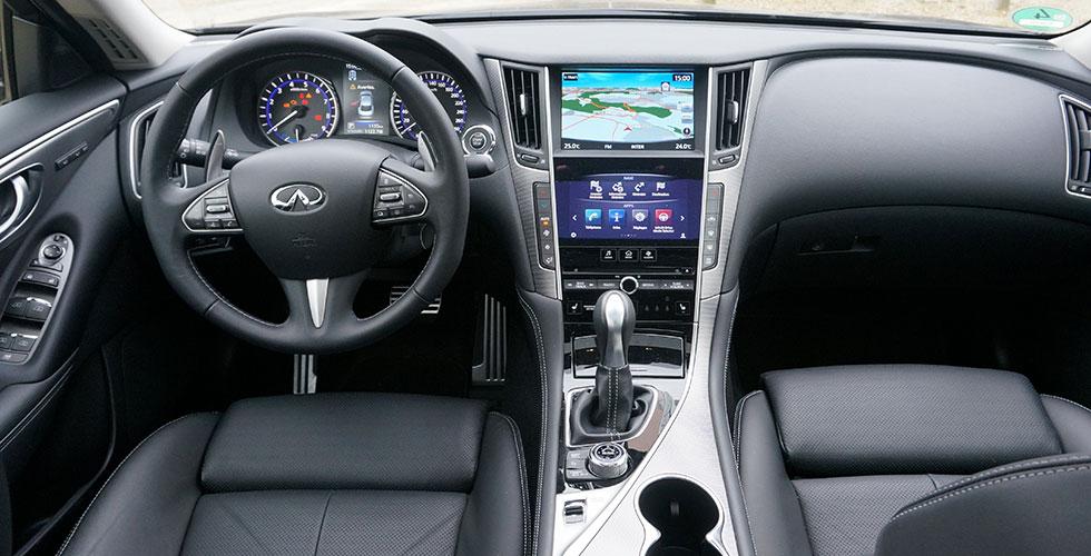 Infiniti Q50 S Hybrid Interieur AUTOcultfr