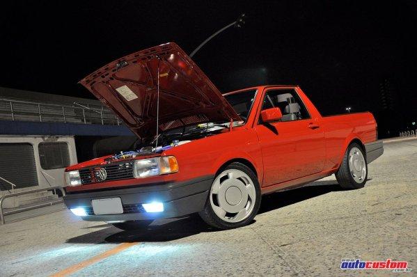 VW Saveiro 1997 1.8 Turbo: 4 anos de restauração e preparação