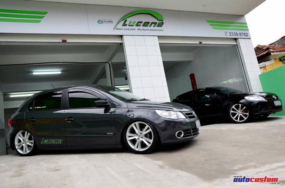 Suspensão a Ar, kit para carros da Lucena Suspensões Especiais com amortecedores pressurizados